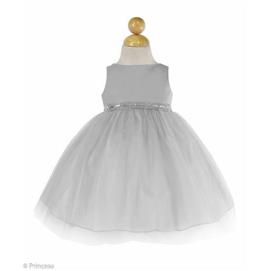Robe De Ceremonie Tulle Bebe Fille