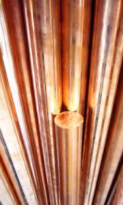 Cuivre électrolytique utilisé pour fabriquer l'argent 925