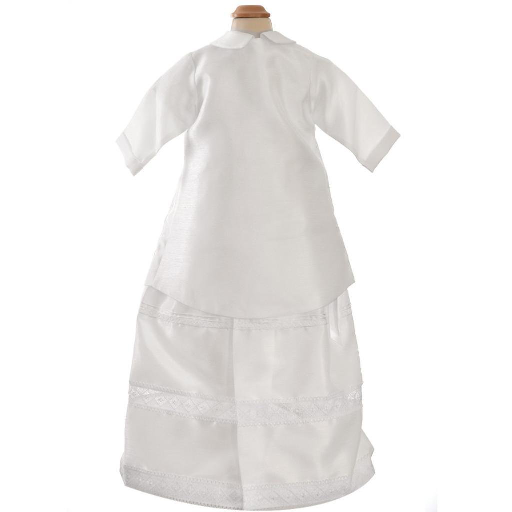 7164da9543c56 Ensemble Baptême Bébé Garçon avec Robe (Tenue traditionnelle)