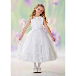 Robe Communion Fille et Ado Haute Couture ®Joan Calabrese - 10 ans