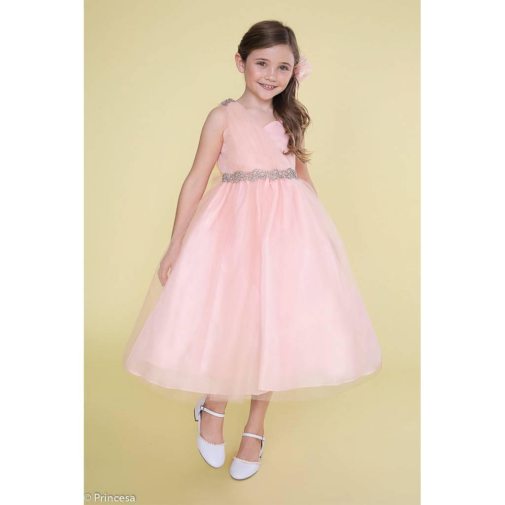 le prix reste stable magasiner pour le luxe moins cher Robe de cérémonie organza et satin - Petite fille et ado