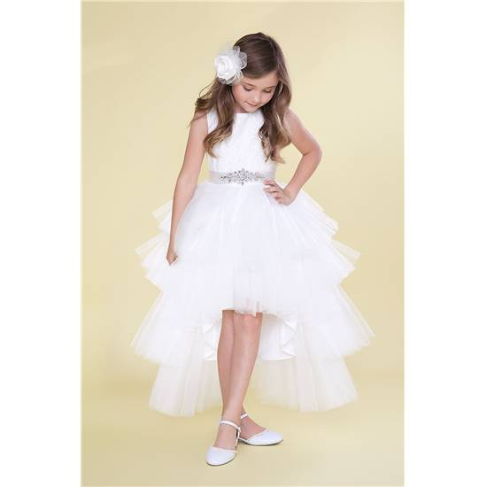 robe de ceremonie blanche ado